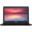 Asus - 13.3 Chromebook - Intel Celeron - 4GB Memory - 16GB eMMC Flash Memory - Black