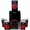 Acoustic Audio - Acoustic Audio AA5180 Home Theater 5.1 Bluetooth Speaker System 700W Powered Sub - Black