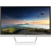 """HP - 23"""" IPS LED HD Monitor - Snow White/Natural Silver"""