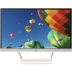 """HP - 21.5"""" IPS LED HD Monitor - Snow White/Natural Silver"""