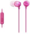 Sony - EX Series Earbud Headphones - Pink