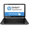 """HP - Pavilion TouchSmart 15-n200 15.6"""" Touchscreen LED (BrightView) Notebook - AMD A-Series A8-4555M 1.60 GHz, - Anodized Silver"""