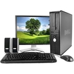 Dell - Refurbished Bundle Optiplex 745 Desktop - Intel Core 2 Duo 1.8GHz 4GB 80GB DVD Windows 7 Professional - 19