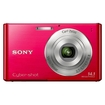 Sony - Cyber-shot 14.1 Megapixel Compact Camera - Red
