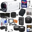 Canon - Bundle Vixia HF R600 1080p HD Video Camcorder