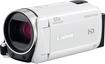Canon - Vixia HF R600 HD Flash Memory Camcorder - White