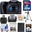 Canon - Bundle PowerShot SX410 IS Digital Camera with 32GB Card