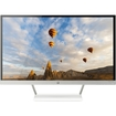 HP - 27 IPS LED HD Monitor - Snow White/Natural Silver