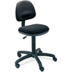 Safco - Safco Precision Armless Desk Height Office Chair in Black - Black