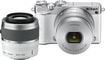 Nikon - J5 Mirrorless Camera with NIKKOR 10-30mm PD-ZOOM and 30-110mm Lenses - White