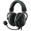 HyperX - Cloud II Wired Gaming Headset - Black/Gunmetal (Black/Grey)