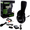 KMD - Wired Professional Gaming Headset with Microphone for Sony PlayStation PS3 / Microsoft Xbox 360 / Mac / PC - Black Deal