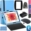 EEEKit - Bundle 3-in-1 Office Kit for Microsoft Surface 3 10.8, Folio Case+Bluetooth keyboard+2.4G Mouse+Mouse Pad+ 3 Ports Hub Deal