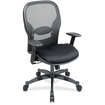 Office Star - SPACE Matrex Mid-Back Mesh Managerial Chair with Arms - Seat Material: Mesh - Multi