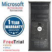 Dell - Refurbished OptiPlex Desktop Computer - Intel Core 2 Duo 4 GB Memory - 320 GB Hard Drive - Multi
