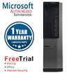 Dell - Refurbished OptiPlex Desktop Computer - Intel Core i3 8 GB Memory - 1 TB Hard Drive - Multi