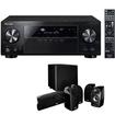 Pioneer - Bundle VSX-1124 7.2-Channel Network A/V Receiver + Polk Audio 5.1 TL1600 Speaker System
