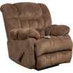 Office Furniture in a Flash - Massaging Recliner With Heat Control - Columbia Mushroom