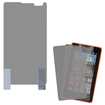 Insten - 2-Pack Clear LCD Screen Protector Shield Guard Film Compatible with Microsoft Lumia 435 - Clear Deal