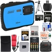 Coleman - Xtreme C6WP HD Shock & Waterproof Digital Camera with 32GB + Batteries & Charger + Case + TriPod Kit