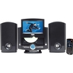 Naxa - 7inches Motorized DVD Micro System with PLL Digital AM/FM Radio & USB/SD/MMC Inputs - Black