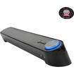 GOgroove - UBR USB Powered Sound Bar Speaker with 3.5mm Headphone & Microphone Jack - Incl. Mouse Pad