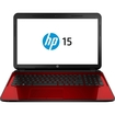 HP - Refurbished 15-g273nr 15.6 Laptop AMD A6-5200 AMD Radeon HD 8400 2GHz 4GB 500GB Win10 - Flyer Red