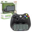 KMD - Text Pad QWERTY Keyboard Compatible with Microsoft Xbox 360 Controller - Black Deal