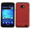 Insten - Fusion Dual Layer [Shock Absorbing] Protection Hybrid PC/Silicone Case Cover for Samsung Galaxy S2 Attain SGH-I777 (ATT) - Red