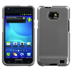 Insten - Crystal Hard Snap-in Transparent Case Cover Compatible with Samsung Galaxy S2 Attain SGH-I777 (ATT) - Gray