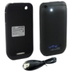 Lenmar - Battery Case for Apple iPhone 3G/3GS - Black