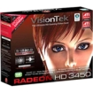 VisionTek - ATI Radeon HD 3450 512MB DDR2 PCI Graphics Card