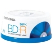 Memorex - Blu-ray Recordable Media - BD-R - 6x - 25 GB - 30 Pack Spindle