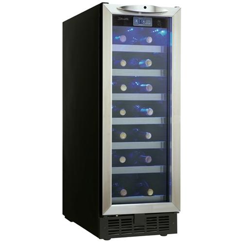 Danby - Silhouette DWC276BLS 27 Bottle Wine Cooler