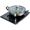 Total Chef - TCIS11BNG Single Induction Cooktop with bonus pot & lid