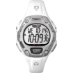 Timex - Ladies T5K515 Ironman 30-Lap Mid Size Watch - White/Silver