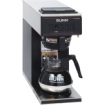 Bunn - Vp17-1blk Pourover Coffee Brewer With One Warmer - Black - Black, Stainless Steel Accents 6417025