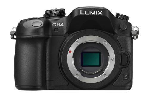 Panasonic - Lumix GH4 Mirrorless Camera (Body Only) - Black