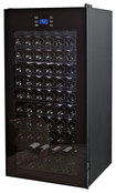 Click here for Wine Enthusiast - 92-bottle Wine Cellar - Black prices
