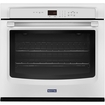 """Maytag - 27"""" Built-in Single Electric Wall Oven - White"""