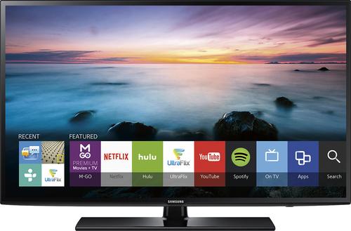 Samsung - 55 Class (54.6 Diag.) - LED - 1080p - Smart - HDTV - Black