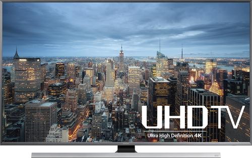 Samsung - 85 Class (84.5 Diag.) - LED - 2160p - Smart - 3D - 4K Ultra HD TV with High Dynamic Range - Silver
