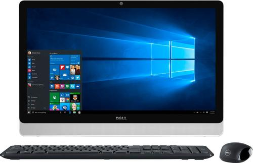 Dell - Inspiron 23.8 Touch-Screen All-In-One - AMD A8-Series - 8GB Memory - 1TB Hard Drive - Black/White