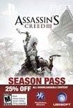 ASSASSIN'S CREED 3 SEASON PASS - PS3 [Digital Download Add-On]