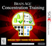 Brain Age Concentration Training - Nintendo 3DS [Digital Download]