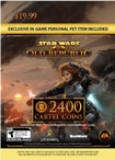 Star Wars The Old Republic 2400 Cartel Coins - Windows [Digital Download]