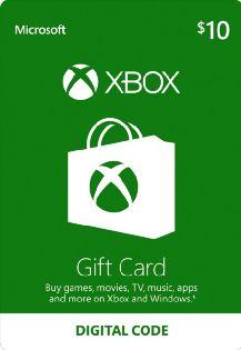$10 Xbox Digital Gift Card - Xbox Live [Digital Download]