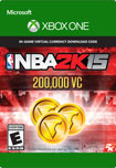NBA 2K15 200,000 Virtual Currency - Xbox One [Digital Download]