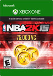 NBA 2K15 75,000 Virtual Currency - Xbox One [Digital Download]