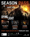 Dying Light Season Pass - PlayStation 4 [Digital Download Add-On]